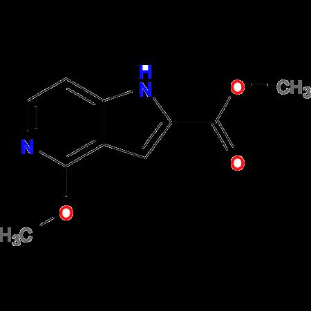 Methyl 4-methoxy-1H-pyrrolo[3,2-c]pyridine-2-carboxylate