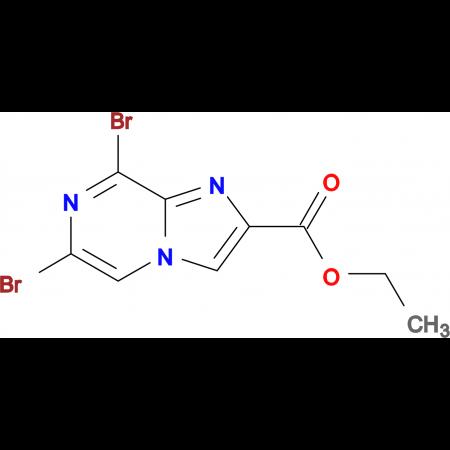 Ethyl 6,8-dibromoimidazo[1,2-a]pyrazine-2-carboxylate