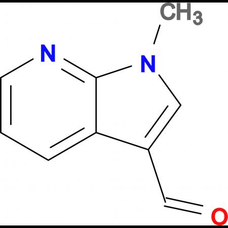 1-Methyl-1H-pyrrolo[2,3-b]pyridine-3-carboxaldehyde