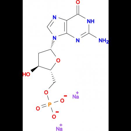 2'-Deoxyguanosine-5'-monophosphoric acid disodium salt