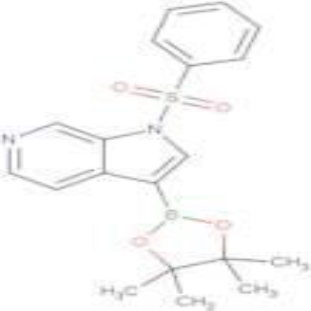1-(Phenylsulfonyl)-3-(4,4,5,5-tetramethyl-1,3,2-dioxaborolan-2-yl)-1H-pyrrolo[2,3-c]pyridine