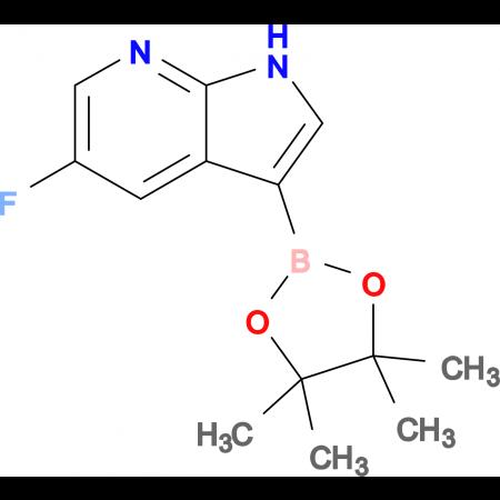 5-Fluoro-3-(4,4,5,5-tetramethyl-1,3,2-dioxaborolan-2-yl)-1H-pyrrolo[2,3-b]pyridine