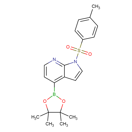 1-[(4-Methylphenyl)sulfonyl]-4-(4,4,5,5-tetramethyl-1,3,2-dioxaborolan-2-yl)-1H-pyrrolo[2,3-b]pyridine