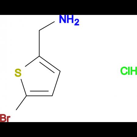 (5-Bromothiophen-2-yl)methanamine hydrochloride