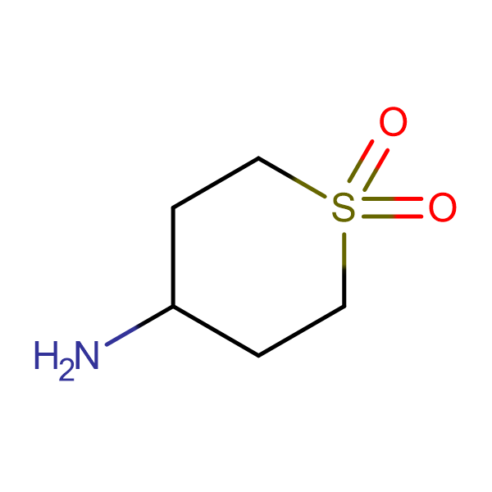 4-Aminotetrahydro-2H-thiopyran 1,1-dioxide
