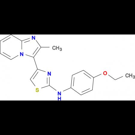 N-(4-Ethoxyphenyl)-4-(2-methylimidazo[1,2-a]pyridin-3-yl)thiazol-2-amine
