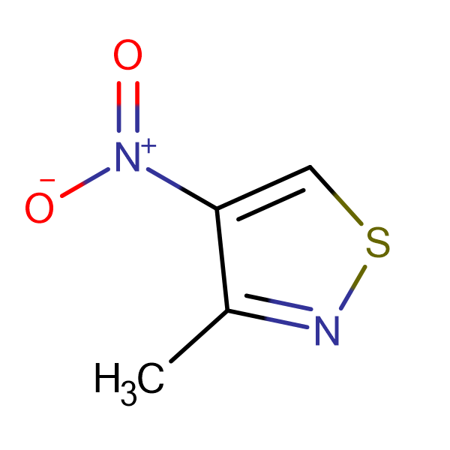 3-Methyl-4-nitroisothiazole