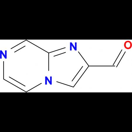 Imidazo[1,2-a]pyrazine-2-carbaldehyde