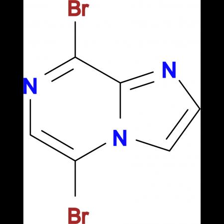 5,8-Dibromoimidazo[1,2-a]pyrazine
