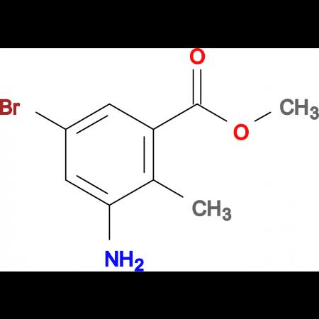 Methyl 3-amino-5-bromo-2-methylbenzoate
