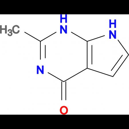 2-Methyl-1H-pyrrolo[2,3-d]pyrimidin-4(7H)-one