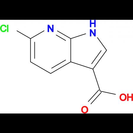 6-Chloro-1H-pyrrolo[2,3-b]pyridine-3-carboxylic acid