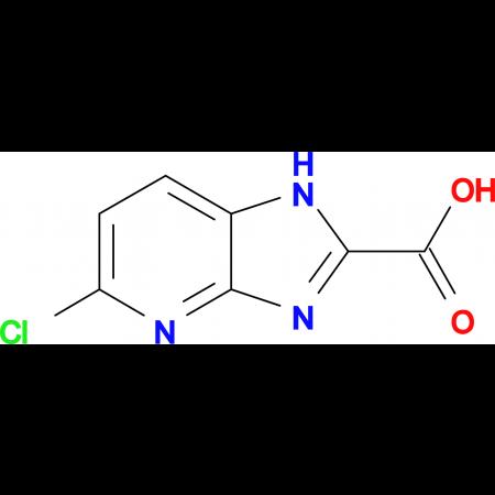 5-Chloro-1H-imidazo[4,5-b]pyridine-2-carboxylic acid