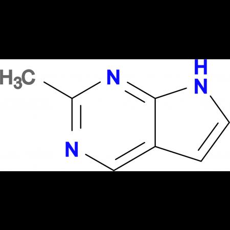 2-Methyl-7H-pyrrolo[2,3-d]pyrimidine