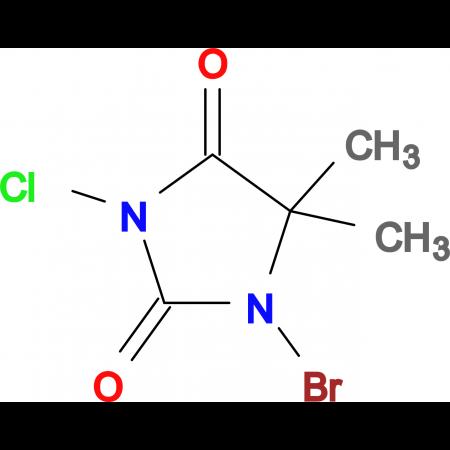 1-Bromo-3-chloro-5,5-dimethylimidazolidine-2,4-dione