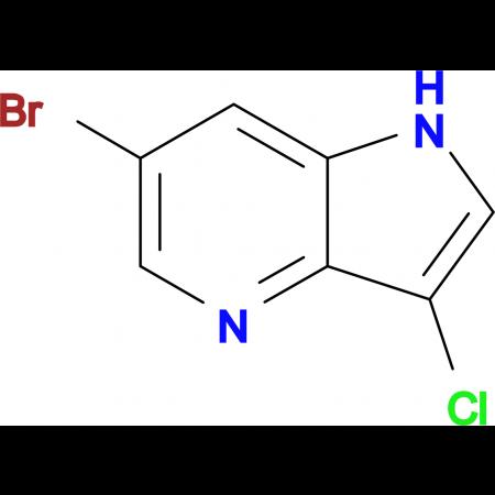 6-Bromo-3-chloro-1H-pyrrolo[3,2-b]pyridine