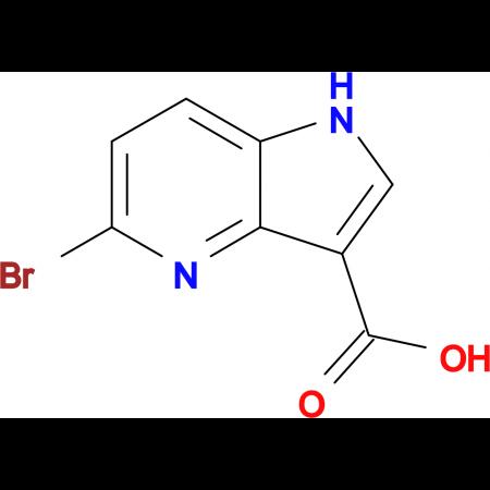 5-Bromo-1H-pyrrolo[3,2-b]pyridine-3-carboxylic acid