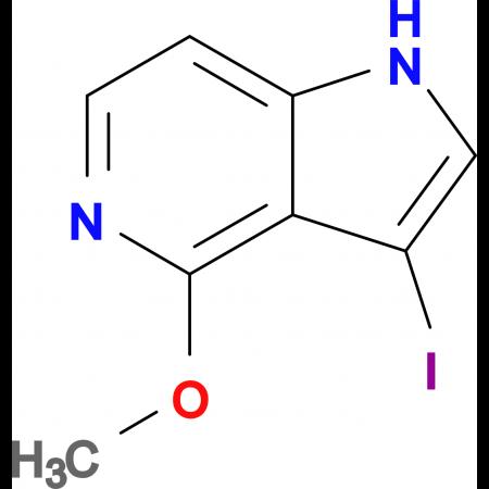 3-Iodo-4-methoxy-1H-pyrrolo[3,2-c]pyridine