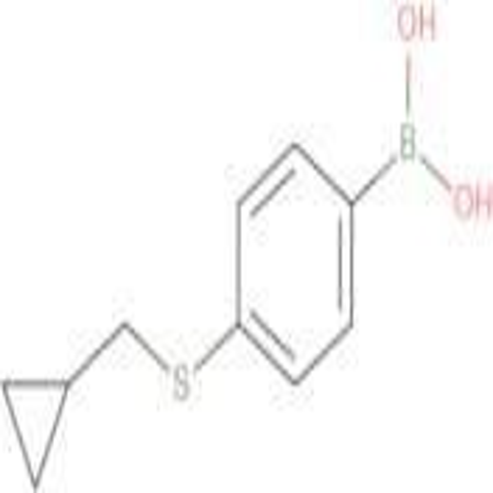 (4-((Cyclopropylmethyl)thio)phenyl)boronic acid