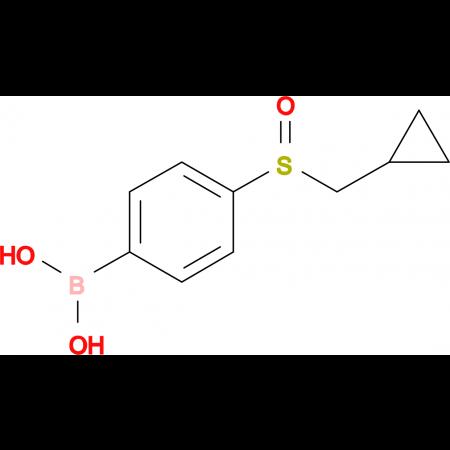 (4-((Cyclopropylmethyl)sulfinyl)phenyl)boronic acid