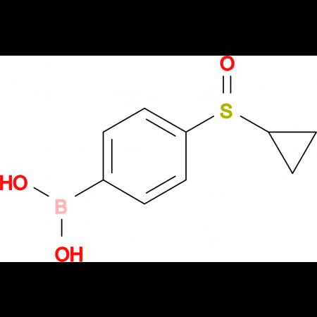 (4-(Cyclopropylsulfinyl)phenyl)boronic acid