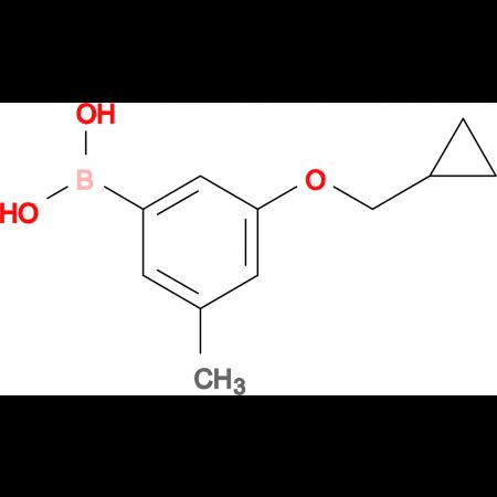 (3-(Cyclopropylmethoxy)-5-methylphenyl)boronic acid