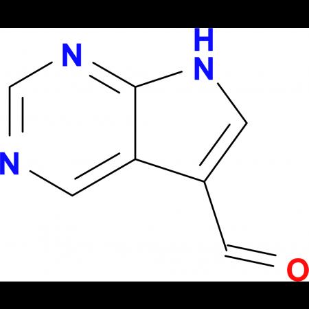 7H-Pyrrolo[2,3-d]pyrimidine-5-carbaldehyde