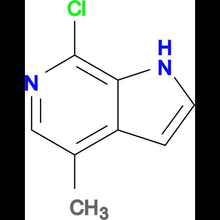 7-Chloro-4-methyl-1H-pyrrolo[2,3-c]pyridine