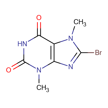 8-Bromo-3,7-dimethyl-1H-purine-2,6(3H,7H)-dione