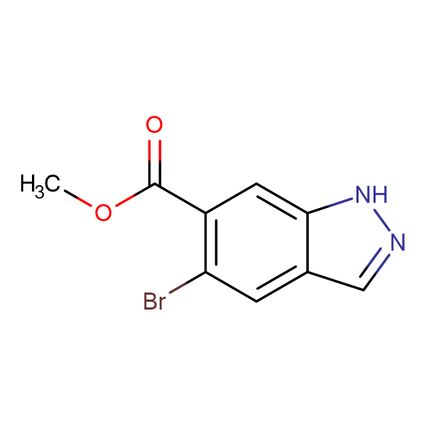 Methyl 5-bromo-1H-indazole-6-carboxylate