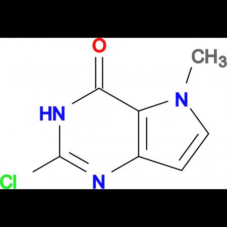 2-Chloro-5-methyl-3H-pyrrolo[3,2-d]pyrimidin-4(5H)-one