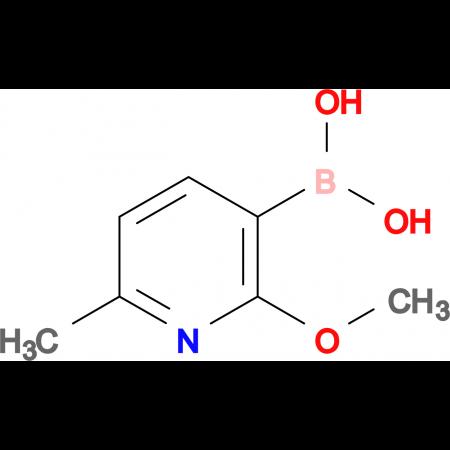(2-Methoxy-6-methylpyridin-3-yl)boronic acid