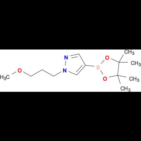 1-(3-Methoxypropyl)-4-(4,4,5,5-tetramethyl-1,3,2-dioxaborolan-2-yl)-1H-pyrazole