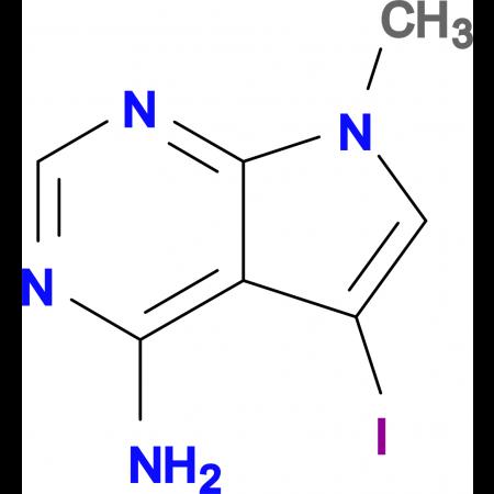 5-Iodo-7-methyl-7H-pyrrolo[2,3-d]pyrimidin-4-amine