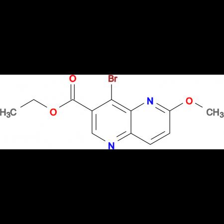 Ethyl 4-bromo-6-methoxy-1,5-naphthyridine-3-carboxylate