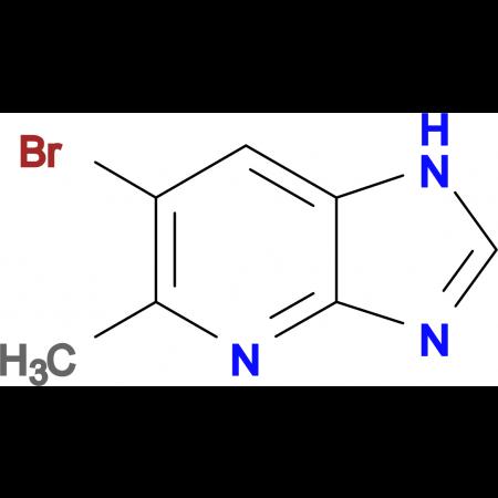 6-Bromo-5-methyl-1H-imidazo[4,5-b]pyridine