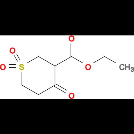Ethyl 4-oxotetrahydro-2H-thiopyran-3-carboxylate 1,1-dioxide