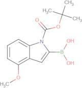 (1-(tert-Butoxycarbonyl)-4-methoxy-1H-indol-2-yl)boronic acid