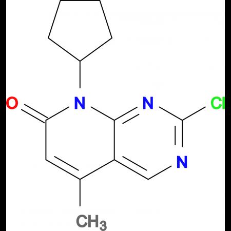 2-Chloro-8-cyclopentyl-5-methylpyrido[2,3-d]pyrimidin-7(8H)-one