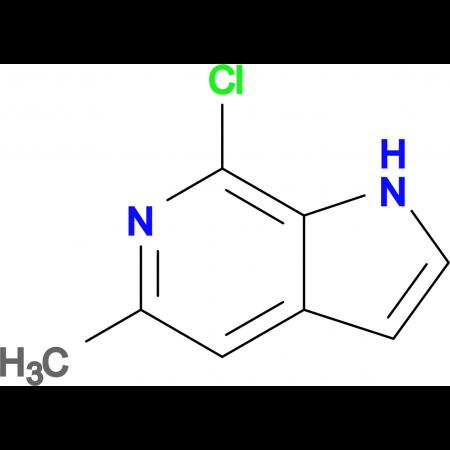 7-Chloro-5-methyl-1H-pyrrolo[2,3-c]pyridine