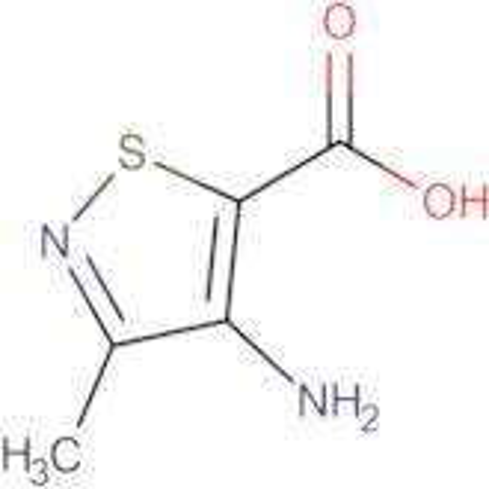 4-Amino-3-methylisothiazole-5-carboxylic acid