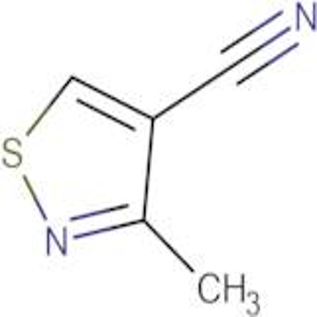 3-Methylisothiazole-4-carbonitrile
