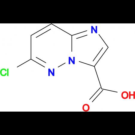 6-Chloroimidazo[1,2-b]pyridazine-3-carboxylic acid