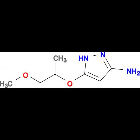5-((1-Methoxypropan-2-yl)oxy)-1H-pyrazol-3-amine