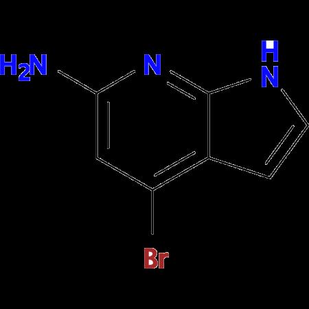 4-Bromo-1H-pyrrolo[2,3-b]pyridin-6-amine