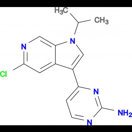 4-(5-Chloro-1-isopropyl-1H-pyrrolo[2,3-c]pyridin-3-yl)pyrimidin-2-amine