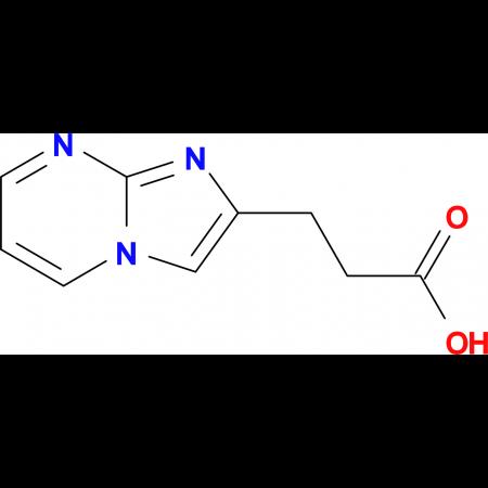 3-(Imidazo[1,2-a]pyrimidin-2-yl)propanoic acid