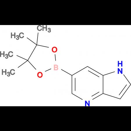 6-(4,4,5,5-Tetramethyl-1,3,2-dioxaborolan-2-yl)-1H-pyrrolo[3,2-b]pyridine
