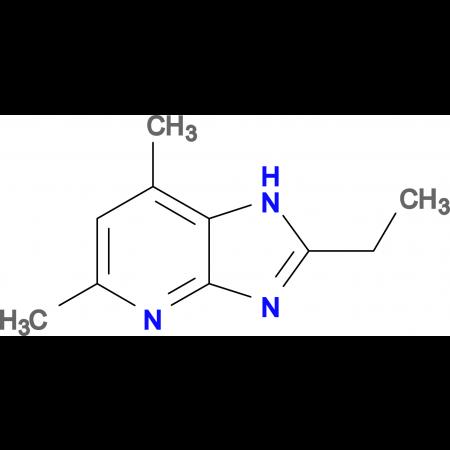 2-Ethyl-5,7-dimethyl-1H-imidazo[4,5-b]pyridine