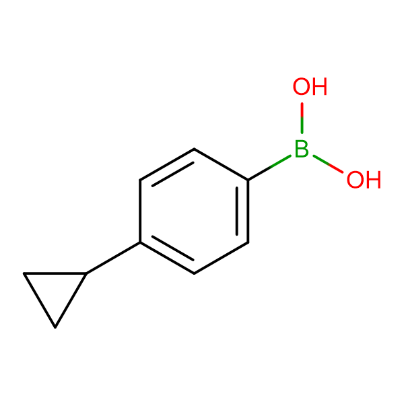 (4-Cyclopropylphenyl)boronic acid